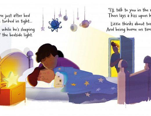 tik tok, bedtime book